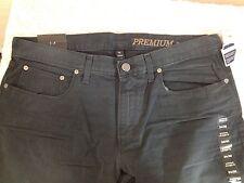 Gap Jeans Premium Straight Pants Men's Navy 34/30 New NWT Low Waist Tailored Hip