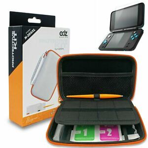 New Nintendo 2DS XL Case + Protective kit, Screen Protector, Stylus, White