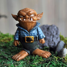 NEW FAIRY GARDEN /MINIATURE GARDEN- FIDDLEHEAD BOB THE TROLL-MINI GARDEN TROLL