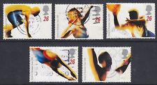 1996 OLYMPICS SET OF 5 SG1930/4 NICE USED