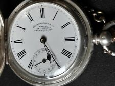 Antique pocket watch COURVOISIER&Co extra quality, silver 0.935,15 jewels, Swiss