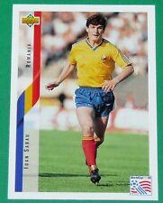 RARE FOOTBALL CARD UPPER DECK 1994 USA 94 IOAN SABAU ROUMANIE ROMANIA