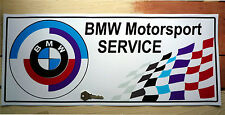 BMW SALES & SERVICE self adhesive sticker  M1 M3 M5 CSL E30 E34 E36 Z3 4 etc