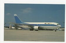 El Al Israel Boeing 767 Aviation Postcard, A703