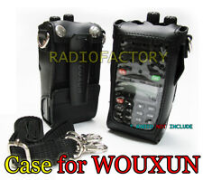 WOUXUN Original leather Case KG-UVD1 KG-801 KG-UVD1P