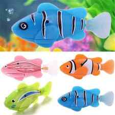 Cute Swimming Robofish Activated Battery Powered Robo Fish Toy Fish Robotic FT