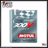Olio Motore Auto Motul 300V Power 5W40 5W40 6 litri lt racing motor oil