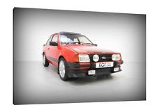 Ford Escort RS1600i - 30x20 Inch Canvas - Framed Picture Print Art