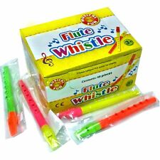 Box of 48 Plastic Flute Whistle Toys - Wholesale Children's Toys Fillers