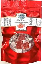 Marmara Authentic Turkish Delight with Rose Gourmet Sweet Confectionery 1 Pound