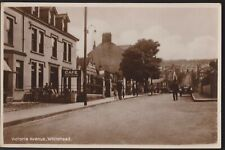 More details for postcard - victoria avenue, whitehead, county antrim - real photo