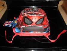 Marvel Spider-Man Backpack~Bonus! Detachable Lunch Kit~New With Free Shipping@
