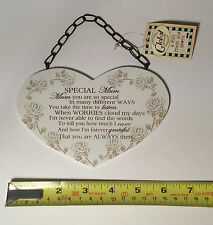 Special Mum Wall Plaque Christmas Gift Ideas for Her Mother Mom & Mam