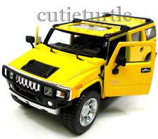 Kinsmart 2008 Hummer H2 SUV 1:32 Diecast Yellow