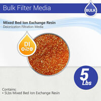 5 Lbs Nuclear Grade Mixed Bed Ion Exchange Deionization Color Change Resin RO DI