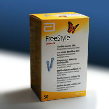 FreeStyle Lancets – 1box x 50pcs - Sterile - 28g Lancets