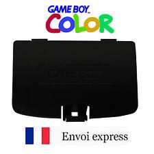 Cache pile Noir Game Boy Color neuf [Battery cover Gameboy GBC] black