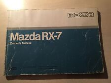 MAZDA RX7 FC S4 OWNERS MANUAL - JIMMY'S