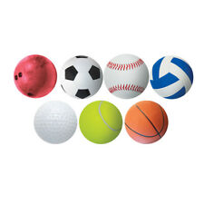 "6"" Sports Ball Accents, Pack of 30"