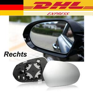 Spiegelglas Außenspiegel Glas Rechts Asphärisch beheizbar Für Audi A6 4G C7 NEU