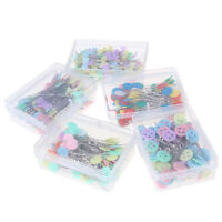 100X Patchwork Needle Craft Flower Button Head Pins Embroidery Pins For DIY YK