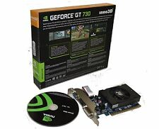 NVIDIA Geforce GT 730 2GB   DDR3 PCI Express Video Graphics Card HMDI DVI