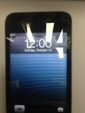 Apple iPod touch 4th Generation Black (32GB) grey marks on screen