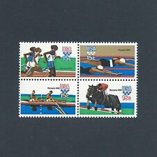 1980 Summer Olympics in Moscow - Vintage Mint Set of 4 Stamps 38 Years Old!