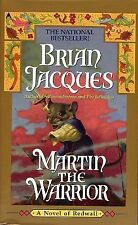Redwall Ser.: Martin the Warrior 6 by Brian Jacques (1999, Paperback)