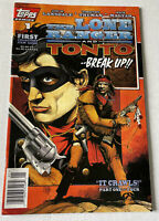 The Lone Ranger and Tonto Break Up # 1 of 4 Topps Comics