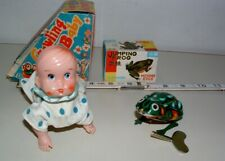 * VINTAGE KEY WIND-UP TOYS LOT OF ( 2 )MINT IN BOXS