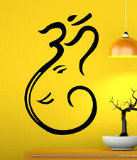 Om Symbol Wall Decal Vinyl Sticker  Mantra Buddhism Sign Interior Decor (1som)