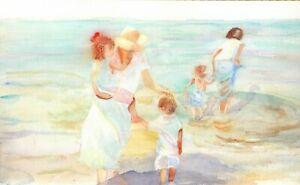 "Original Watercolour Painting - "" A Seaside Study"""