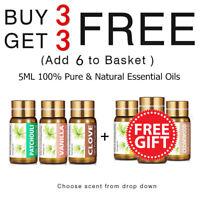 KIUNO Essential Oil 100% Pure & Natural Aromatherapy Fragrance Essential Oils