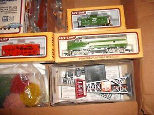 Vintage Large HO Train Set Life Like Lakeside Hauler Train System, unused in box