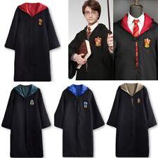 Harry Potter Gryffindor Slytherin Hufflepuff Ravenclaw Robe Cloak Cape
