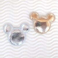"""60 pcs x 1.5"""" Padded Shiny Felt MOUSE Appliques Baby Shower Mickey/Minnie ST633X"""