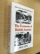 The economy of british america 1607-1789 by John McCusker and R Menard 1985 1st