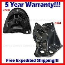 A471 For 93-97 Civic Del Sol 1.6L Rear Motor /Trans Mount Set 2PCS MANUAL