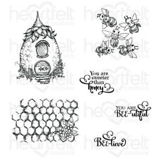 Heartfelt Creations Sweet as Honey Cling Stamp Set HCPC-3831