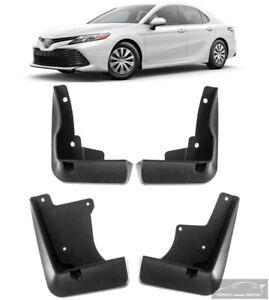 New Set Splash Mud Flaps Guards PU06003180TP For 2018-2021 Toyota Camry LE XLE