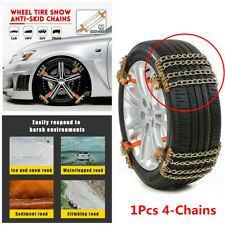 New Steel Car SUV Snow Chains Wheel Tire Emergency Anti-Skid Chains Accessories
