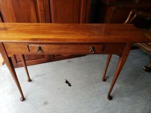 BOB TIMBERLAKE SOLID CHERRY STUDIO SOFA TABLE  MADE IN USA LEXINGTON 833-966