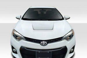 14-16 Toyota Corolla Circuit Duraflex Body Kit- Hood!!! 115575