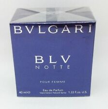 Blv notte Bvlgari pour Femme Eau de parfum spray 40ml. Bulgari Blu