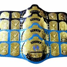 2 pcs WWE/WWF Classic Gold Winged Eagle Championship Belts Adult 4mm Thick Brass