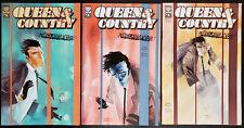 Queen & Country Declassified #1-3 (2002 Oni Press) Vol 1 Greg Rucka Complete Set