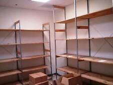 Backroom Shelving Retail Wood Storage Shelves Used Store Fixtures LIQUIDATION
