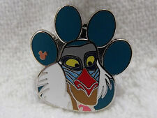 2017 Disney Hidden Mickey Trading Pin The Lion King Characters Paw Shape Rafiki