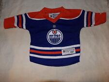 NHL Edmonton Oilers Infant Jersey Bodysuit Outfits Sz 12-24M EUC
